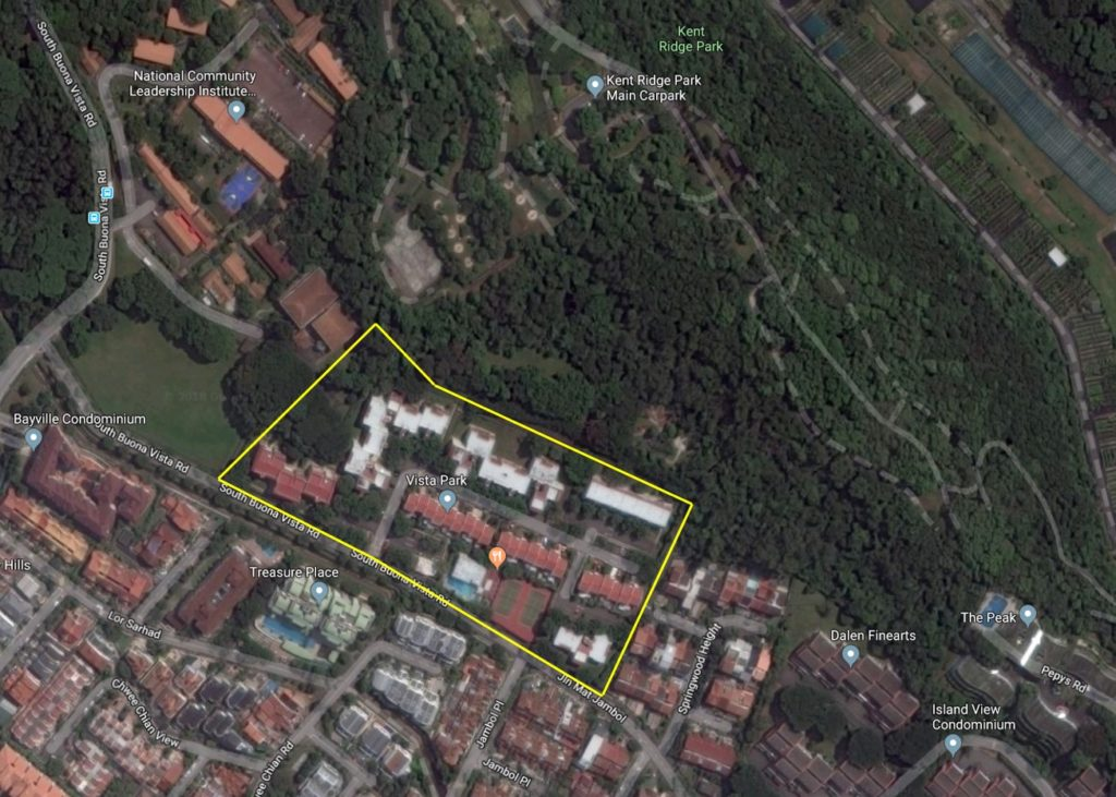 Kent Ridge Hill Residences Satellite Image