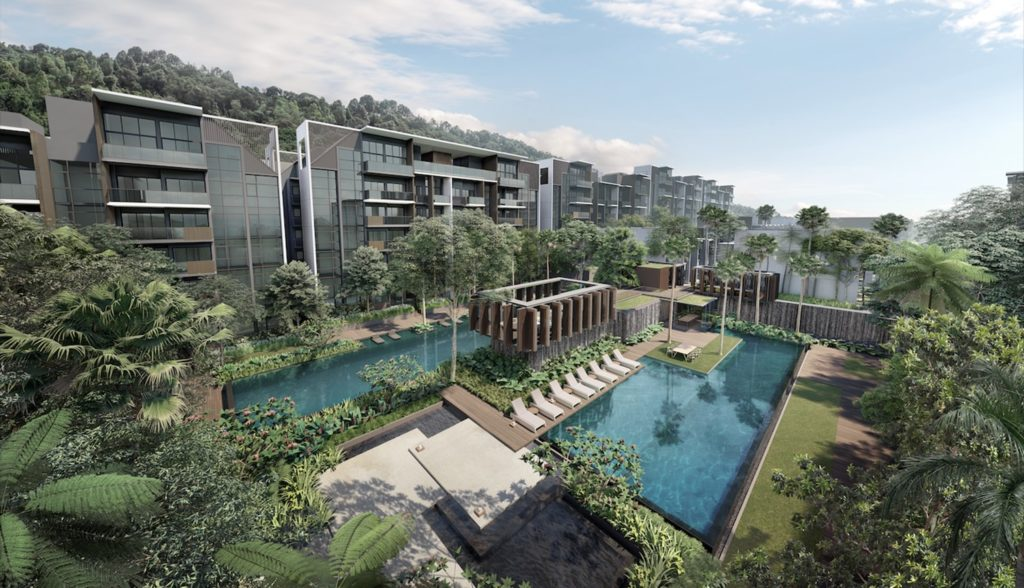 kent ridge hill residences perspective
