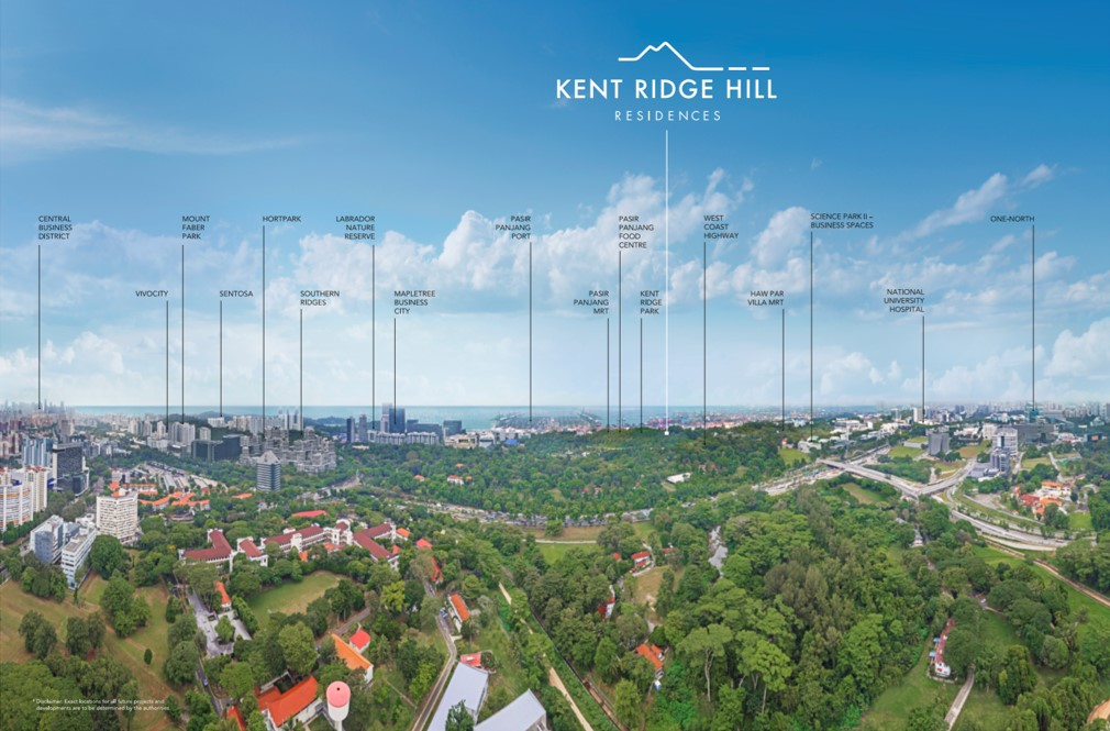 location of kent ridge hill residences