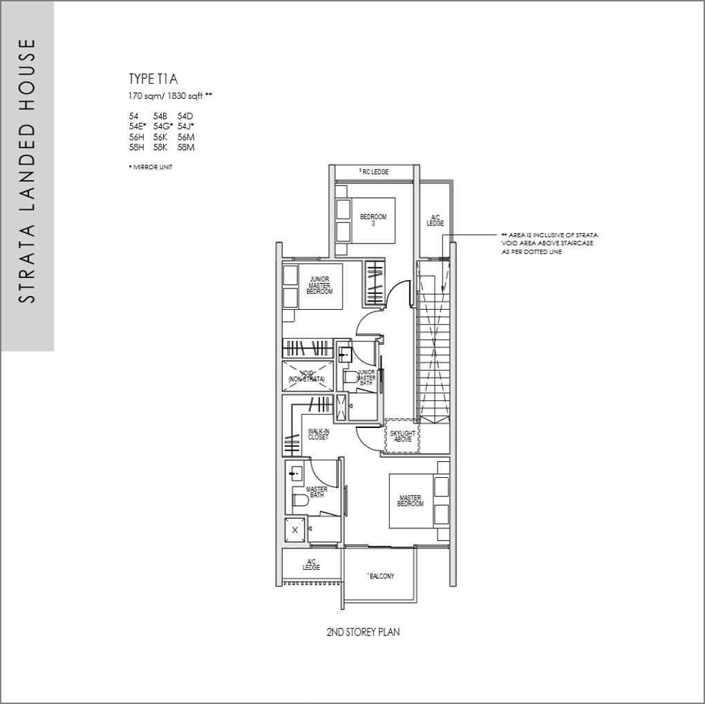 kent ridge hill residences floor plan_Strata Landed 4 bedroom_02