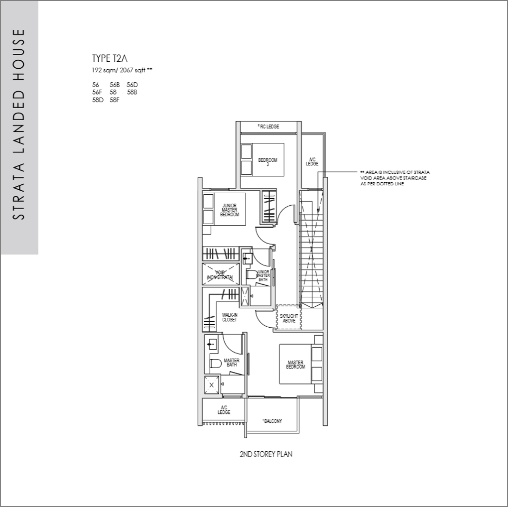 kent ridge hill residences floor plan_Strata Landed 5 bedroom_02